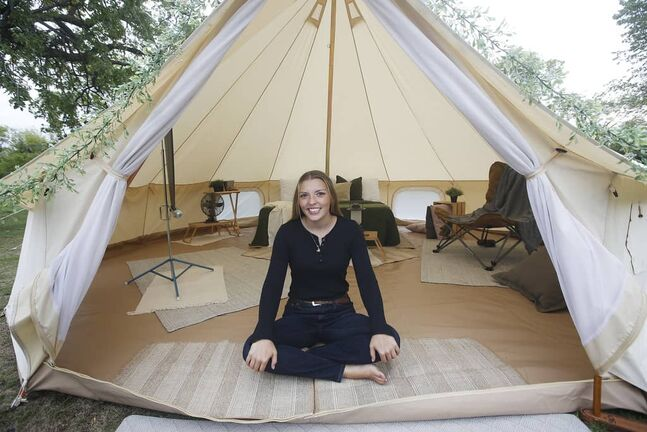 Sarah Scott, owner of Canadiana Camper & Co., launched the venture so her clients can enjoy a relaxing