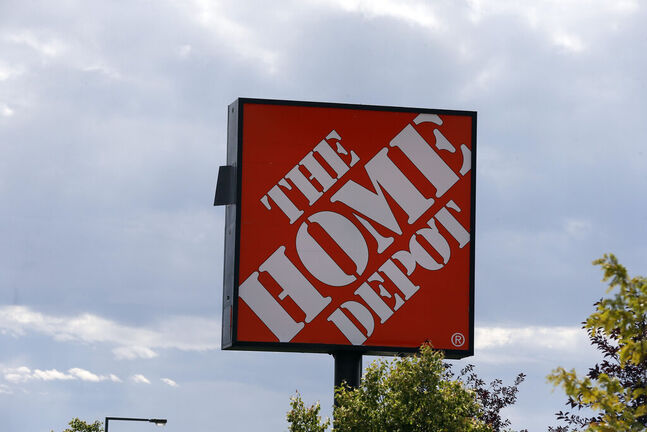 A person confirmed to have COVID-19 was at the Home Depot on Bishop Grandin on June 12 between 8:15 a.m. and 8:45 a.m. (Jim Mone / The Associated Press files)