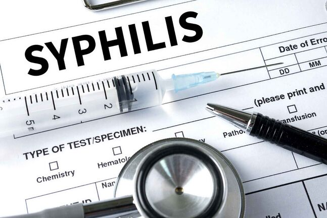 For adults, syphilis is usually curable with a single dose of penicillin. For newborns infected with the disease, the consequences can include deformed bones, meningitis and brain and nerve problems such as blindness or deafness. (Dreamstime / TNS files)