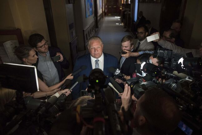 Tijana Martin / The Canadian Press files</p><p>Ontario Premier Doug Ford </p></p>