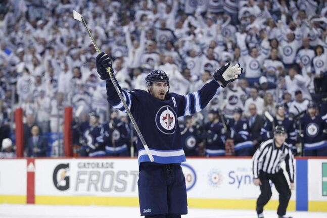 Mark Scheifele and the Winnipeg Jets appear well-equipped to make another big run this season. (John Woods / The Canadian Press files)</p></p>