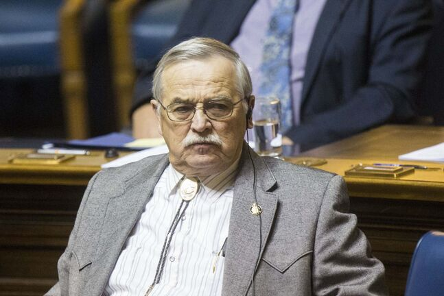 MIKAELA MACKENZIE / WINNIPEG FREE PRESS</p><p>PC MLA for Emerson, Cliff Graydon.</p>