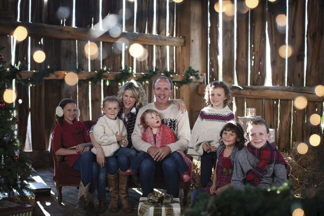 Natalie MacMaster and Donnell Leahy are touring the country with their children on the Celtic Family Christmas tour. (Supplied)</p>