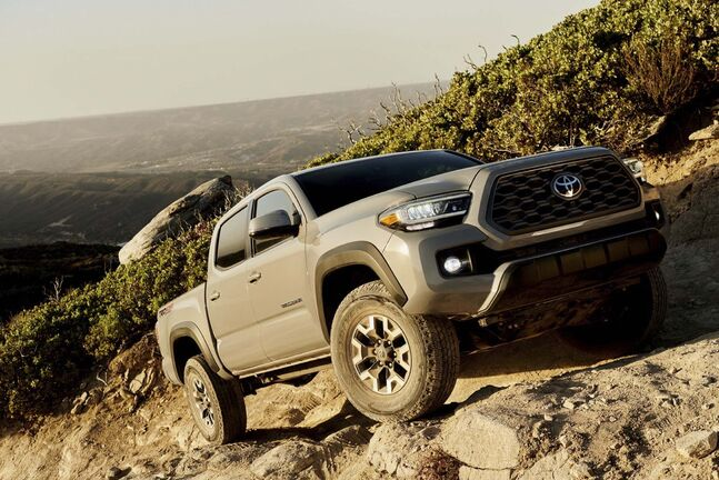 Photos by Toyota </p><p>Toyota&rsquo;s Tacoma got some upgrades for its 2020 edition. The combination of high tech and quality parts continues to keep the Tacoma at the front of the line in the highly competitive mid-size truck market.</p>