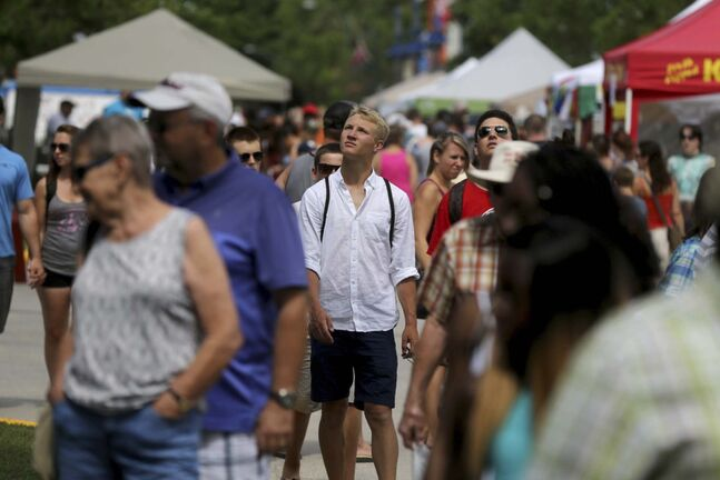 Large crowds like the ones at the Gimli Icelandic Festival in the summer of 2015 will be uncommon in the province this year.