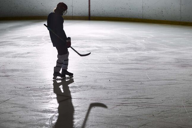 ADAM GLANZMAN / THE WASHINGTON POST  The NHL was able to complete its season by placing players in a bubble and testing daily, an impossible task when it comes to the 650,000 amateur players across the United States.