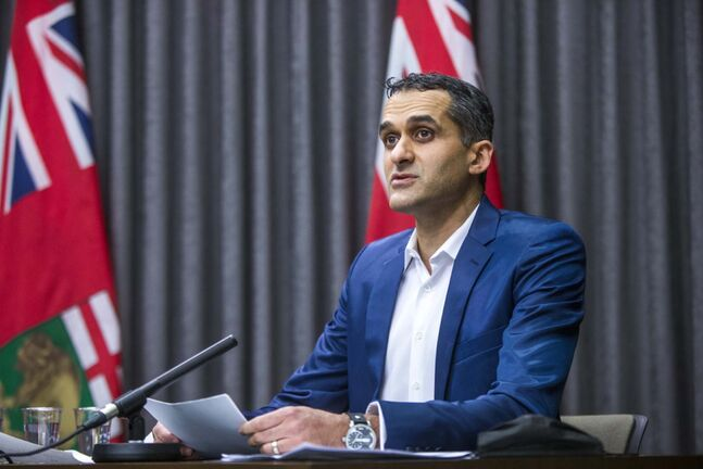 Anything could happen in 24 hours, sayd Dr. Jazz Atwal, deputy chief provincial public health officer. (Mikaela MacKenzie / Winnipeg Free Press file)