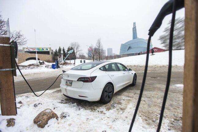 MIKAELA MACKENZIE / WINNIPEG FREE PRESS  There is sluggish demand and limited supply of electric vehicles in the province.