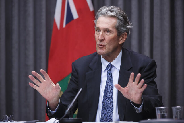 Premier Brian Pallister said Tuesday Manitobans who travel out of province will have to self-isolate for 14 days when they return, beginning Friday.