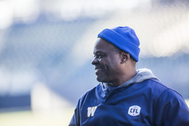 Bombers defensive coordinator Richie Hall.