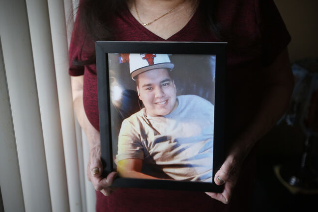 Cody Severight was killed in a 2017 hit-and-run by off-duty police officer Justin Holz. (John Woods / Winnipeg Free Press)
