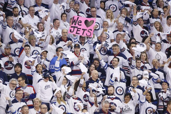The arena won't be sold out when the Jets return to the ice. (John Woods / The Canadian Press files)