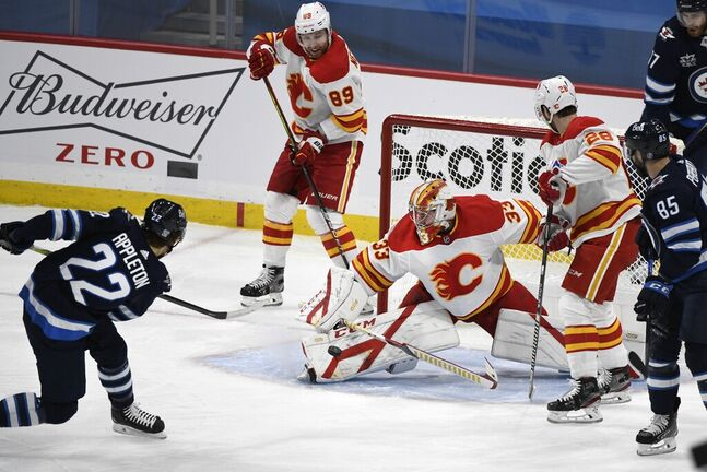 Jets against Flames again? Ho hum. (Fred Greenslade / The Canadian Press files)