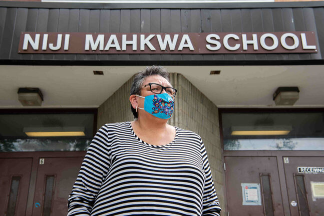 Helen Robinson-Settee, director of the Indigenous Inclusion Directorate with Manitoba Education and a former teacher-librarian at Niji Mahkwa School.