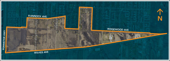 Ridgewood South is expected to contain 11 separate neighbourhoods with a total of 3,400 living units and a population of 7,000 to 9,000 people.