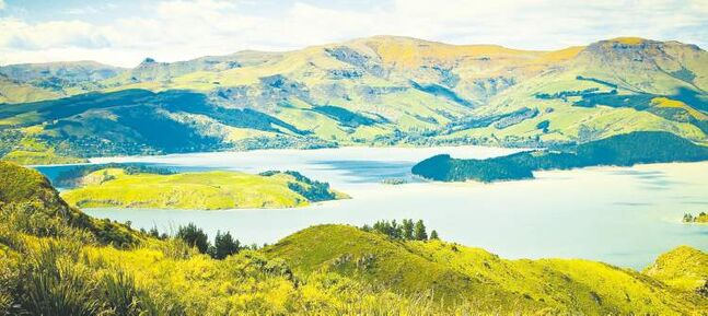 Hiking trails provide access to nature reserves carved from volcanic craters.
