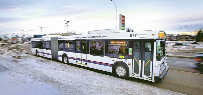 Winnipeg Transit's articulated buses, purchased from Ottawa and refurbished here, were bargains at $53,000 each.