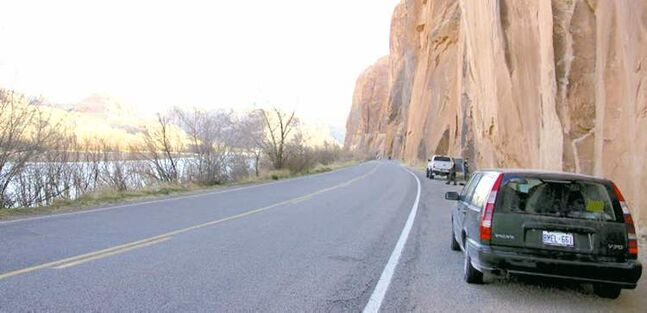 Lauren Watson takes her trusty 1998 Volvo V70 on an adventure.