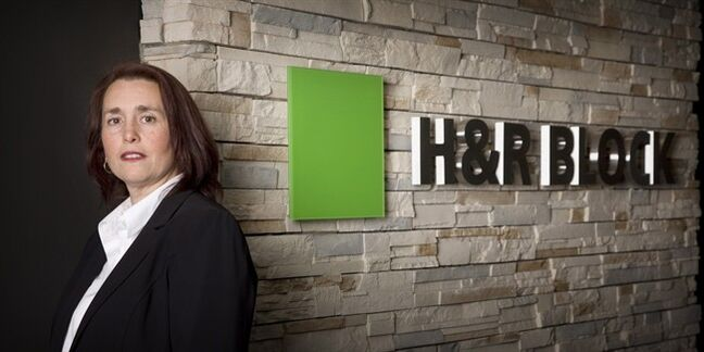 Cleo Hamel, a senior tax analyst with H&R Block in Calgary is shown in a handout photo. Failing to file tax returns for months puts at risk federal and provincial benefits that are calculated based on annual tax returns, says Hamel. THE CANADIAN PRESS/HO