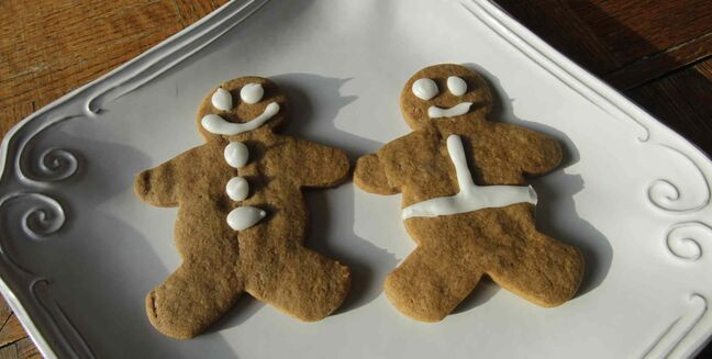 Soft Gingerbread People