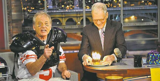 Bill Murray (above) was Letterman's first guest when the show premiered in 1993.
