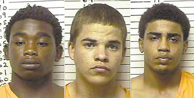 James Francis Edwards Jr., Michael Dewayne Jones, Chancey Allen Luna.