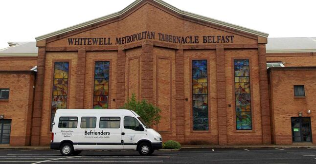 The Whitewell Metropolitan Tabernacle Thursday, May 29, 2014, where Pastor James McConnell made comments about Muslims.