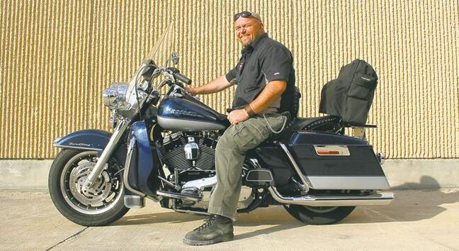 Willy, pictured here aboard a Harley-Davidson Road King, has been riding since he was a kid and can't imagine a life that didn't include motorcycles.