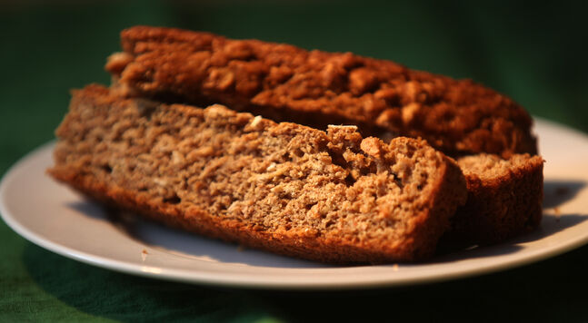 Malty Guinness bread is like a cross between beer bread and Irish soda bread.