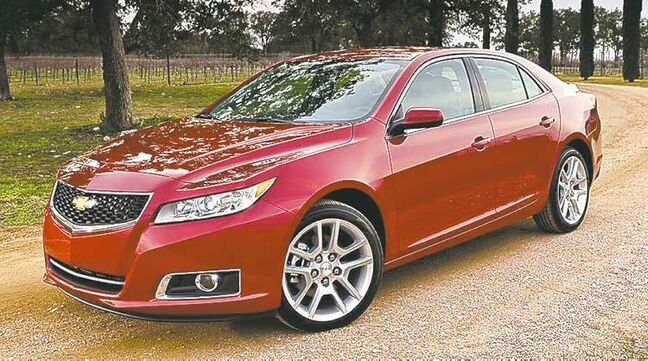 Chevrolet hopes to recapture the public's attention with the all-new 2014 Malibu.