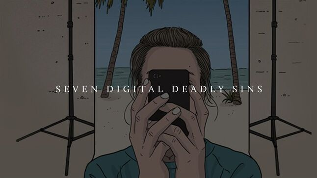 The title frame of the film Seven Digital Deadly Sins is shown. THE CANADIAN PRESS/HO, NFB/The Guardian (London)