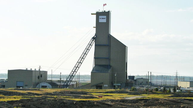 The site of HudBay Minerals' 777 copper and zinc mine in Flin Flon. HudBay lost $24.1 million in the first quarter this year.