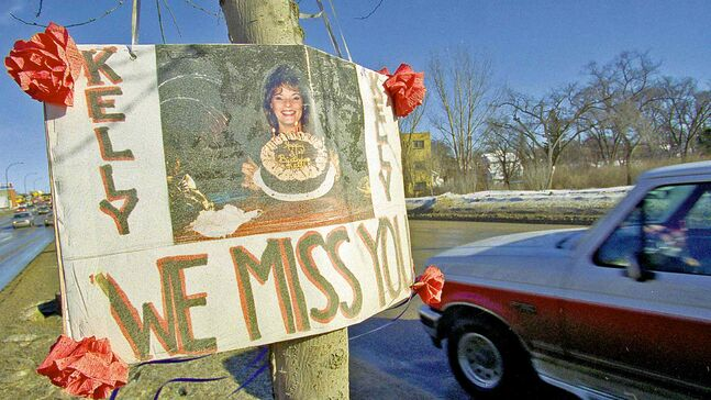 Kelly Stewner was slain on Portage Avenue near Overdale Street in May 1994. Bruce Stewner was released on day parole in November 2012 but is back in custody.