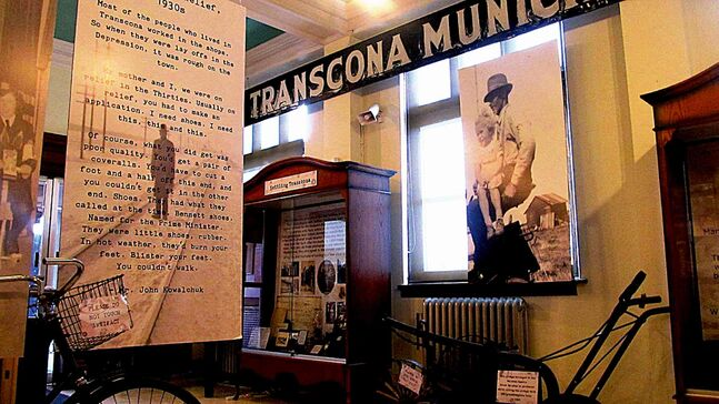 A glimpse of Love Letters from Transcona, the current exhibit at the Transcona Historial Museum. The exhibit closes April 5.