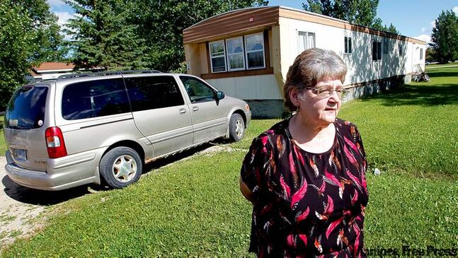 Janet Goodin, of Warroad, Minn., was strip-searched and jailed on mistaken suspicion of drug offences when she crossed into Canada at Sprague.