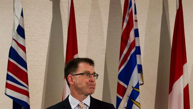 British Columbia NDP Leader Adrian Dix is pictured in Vancouver May 22, 2013. THE CANADIAN PRESS/Darryl Dyck
