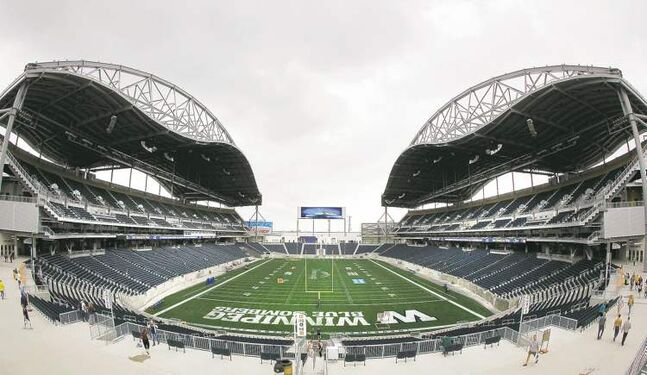 The seats should be full for the Bombers season opener June 27.