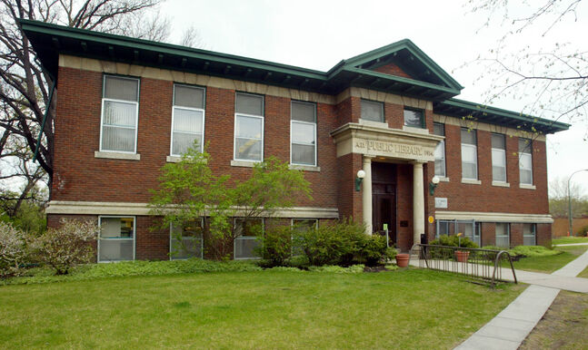 Andrew Carnegie funded the construction of libraries across North America, including the Cornish Library on West Gate.