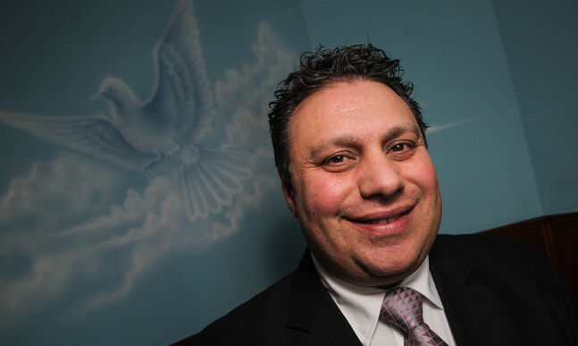 Funeral director Mike Vogiatzakis has announced his mayoral bid.