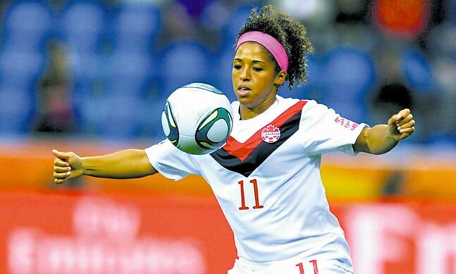 Winnipeg native and local soccer legend Desiree Scott is headed to the Notts County Ladies of the English FA Women's Super League