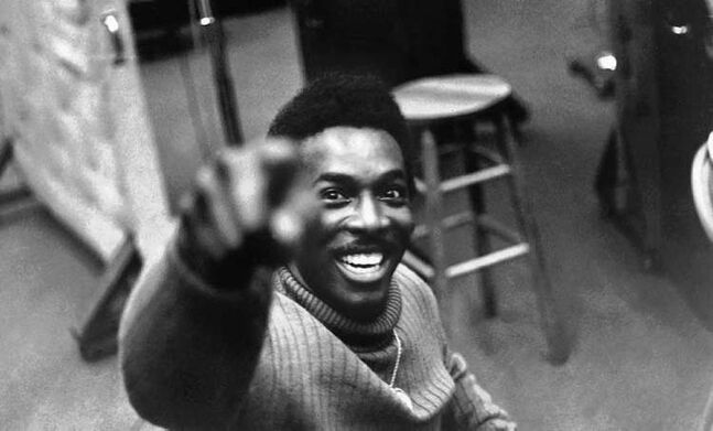 Wilson Pickett at Muscle Shoals Sound Studio in Alabama.
