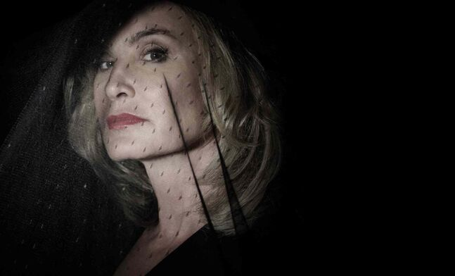 Jessica Lange as Fiona in American Horror Story.
