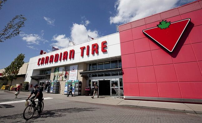 A Canadian Tire store is seen in North Vancouver, May 10, 2012. THE CANADIAN PRESS/Jonathan Hayward