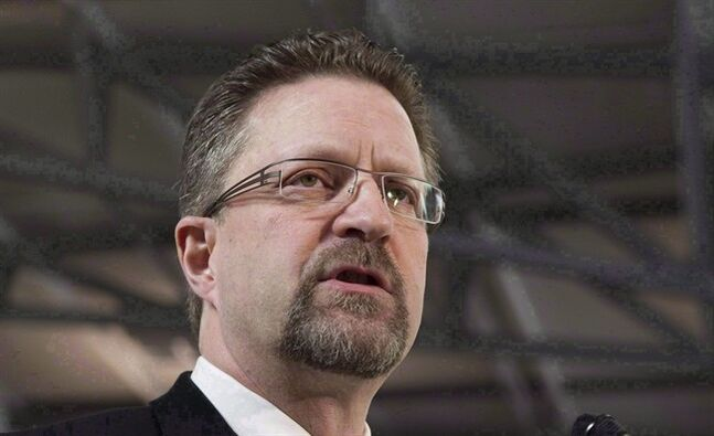 Chuck Strahl is pictured in Ottawa on February 3, 2011. Prime Minister Stephen Harper has issued a rousing defence of Strahl, who stepped down as chairman of the federal spy watchdog over allegations of conflict of interest.THE CANADIAN PRESS/Adrian Wyld