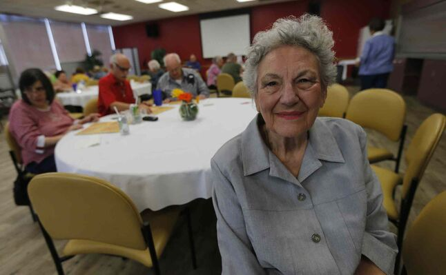 Luba Cates is a volunteer at the North End's Gwen Secter Senior Centre, which is being put up for sale by the National Council of Jewish Women Canada.