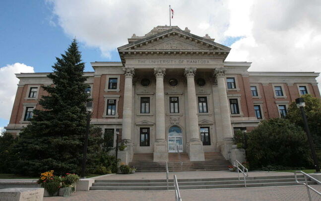 Administration Building at University of Manitoba
