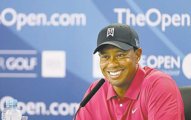 Tiger Woods hasn't won a major since 2008.