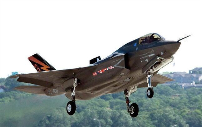 The F-35 fighter