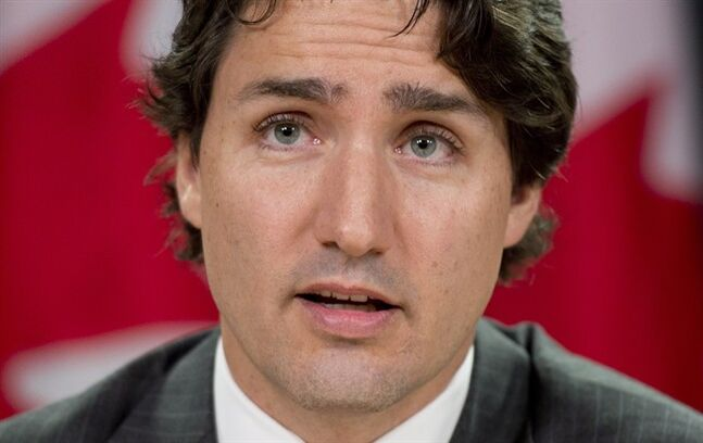 Liberal Leader Justin Trudeau speaks about his private members bill during a news conference Wednesday June 11, 2014 in Ottawa. THE CANADIAN PRESS/Adrian Wyld