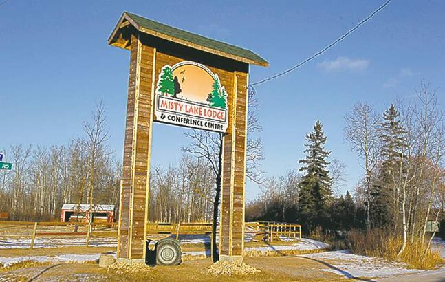 Misty Lake Lodge in Gimli has cleared out rooms occupied by flood co-ordinators hired by MANFF.